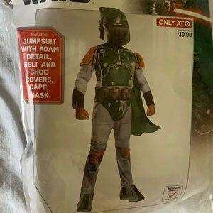 NWT Disney Star Wars Boba Fett. costume